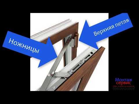 Как просто снять створку пластикового окна или балконной двери. Монтаж Сервис Краматорск.