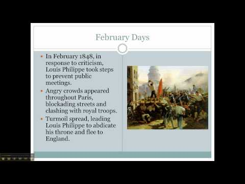 Revolutions of 1830 & 1848 Part 2