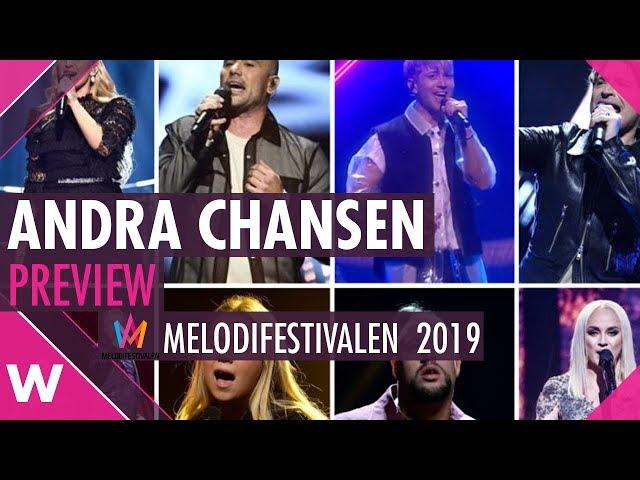 Andra chansen Nyköping Preview @ Melodifestivalen 2019 | wiwibloggs