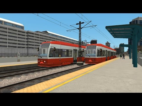 TS2016 - San Diego MTS Tram - Pacific Surfliner Route |