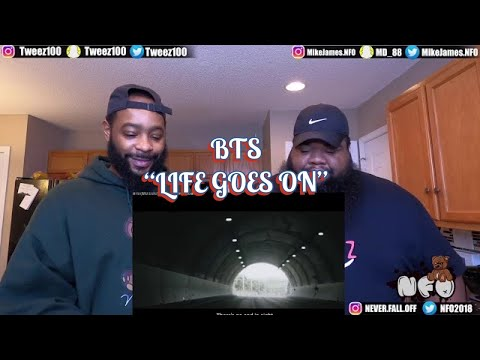 BTS (방탄소년단) 'Life Goes On' Official MV (REACTION)