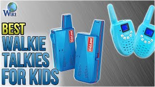 10 Best Walkie Talkies For Kids 2018