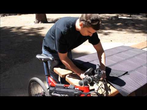 SOLAR POWERED 2WD 5000W High Performance Electric Mountain Bike