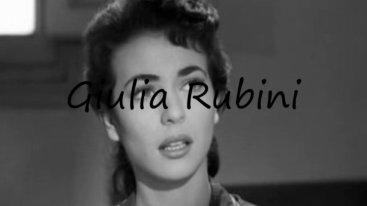 Watch Giulia Rubini video