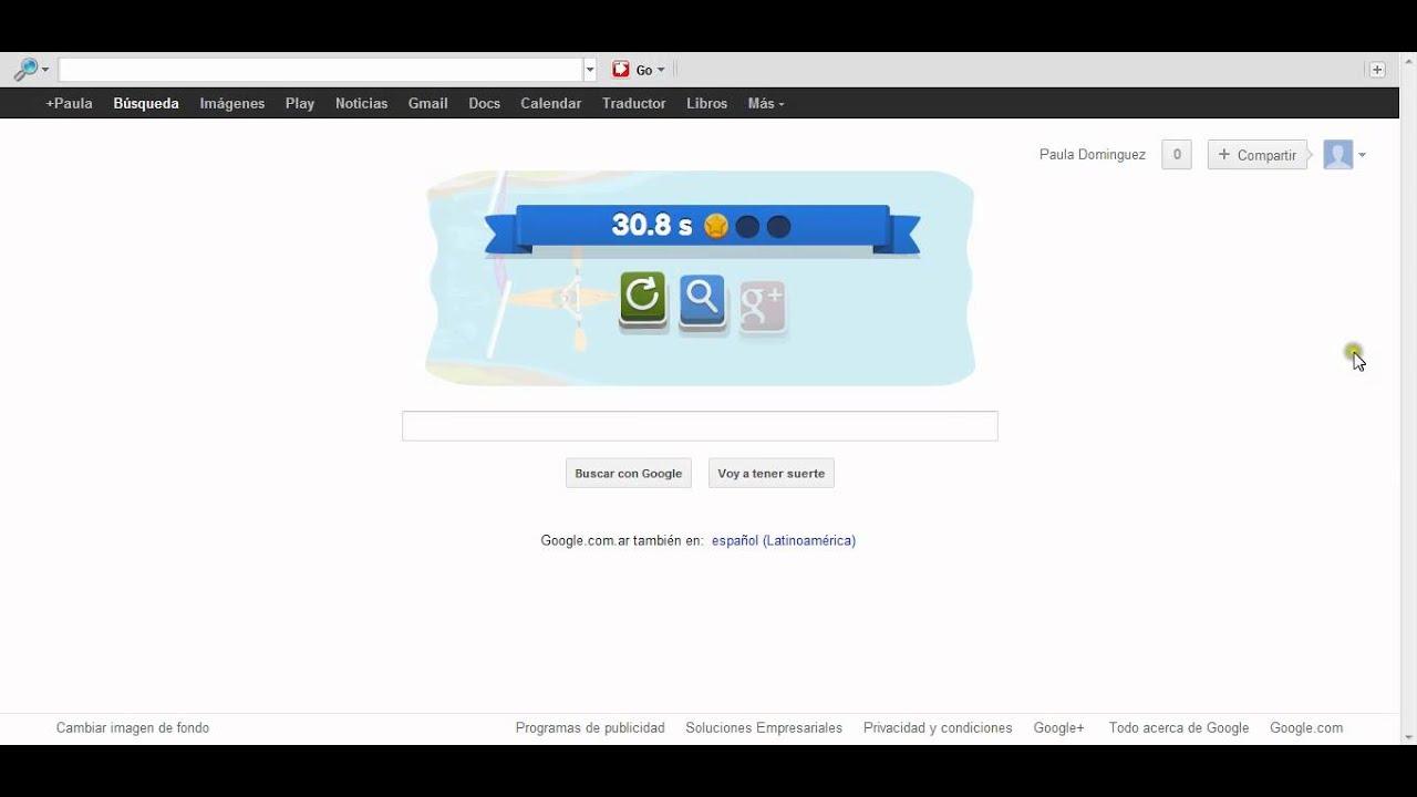 El Logo De Google Por Los Juegos Olimpicos 2012 Canotaje En Slalom