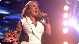 Sam Bailey sings If I Were A Boy by Beyonce - Live Week 9 - The X Factor 2013