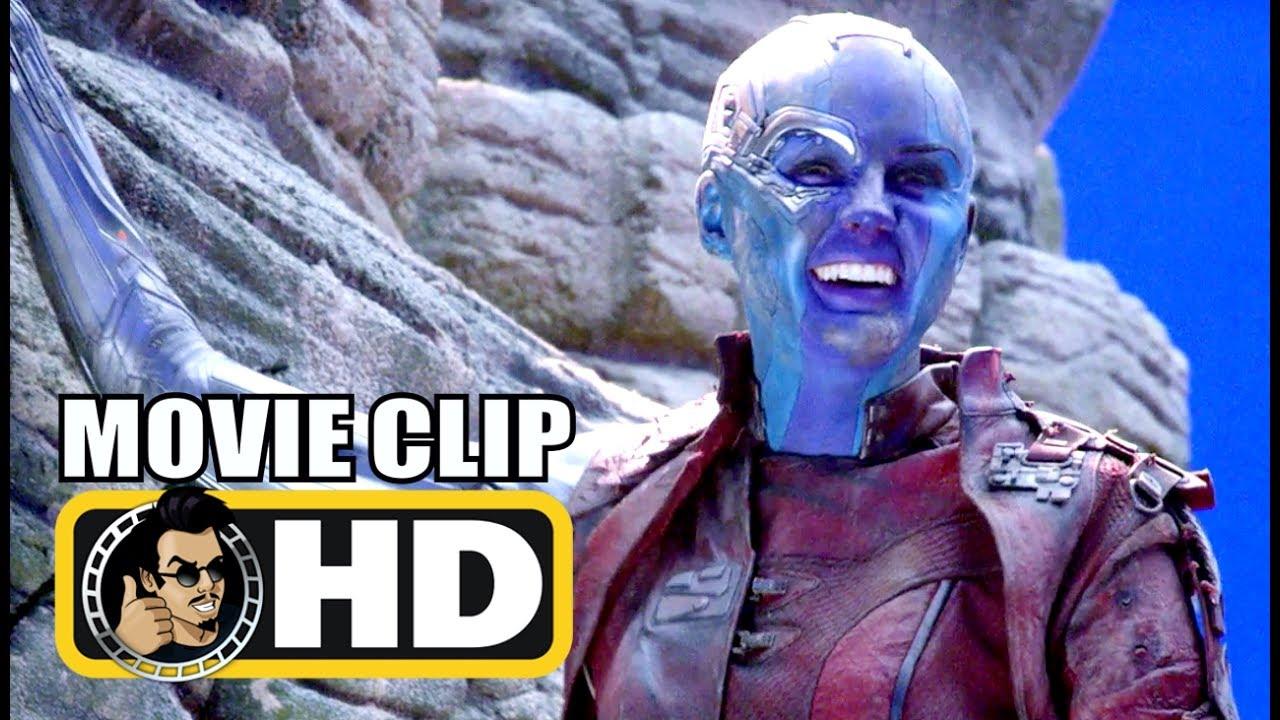 GUARDIANS OF THE GALAXY 2 Blu-Ray Clip - Nebula (2017) Karen Gillan Marvel Superhero Movie HD