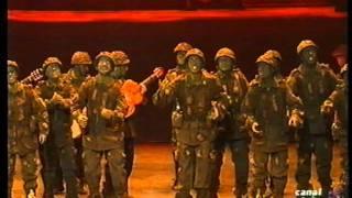 Comparsa - La Trinchera \ Actuación Completa en la FINAL \ Carnaval 1996