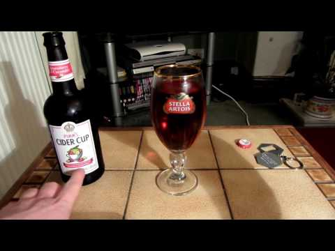 Pimm's Cider Cup Strawberry & Cucumber 4% Review
