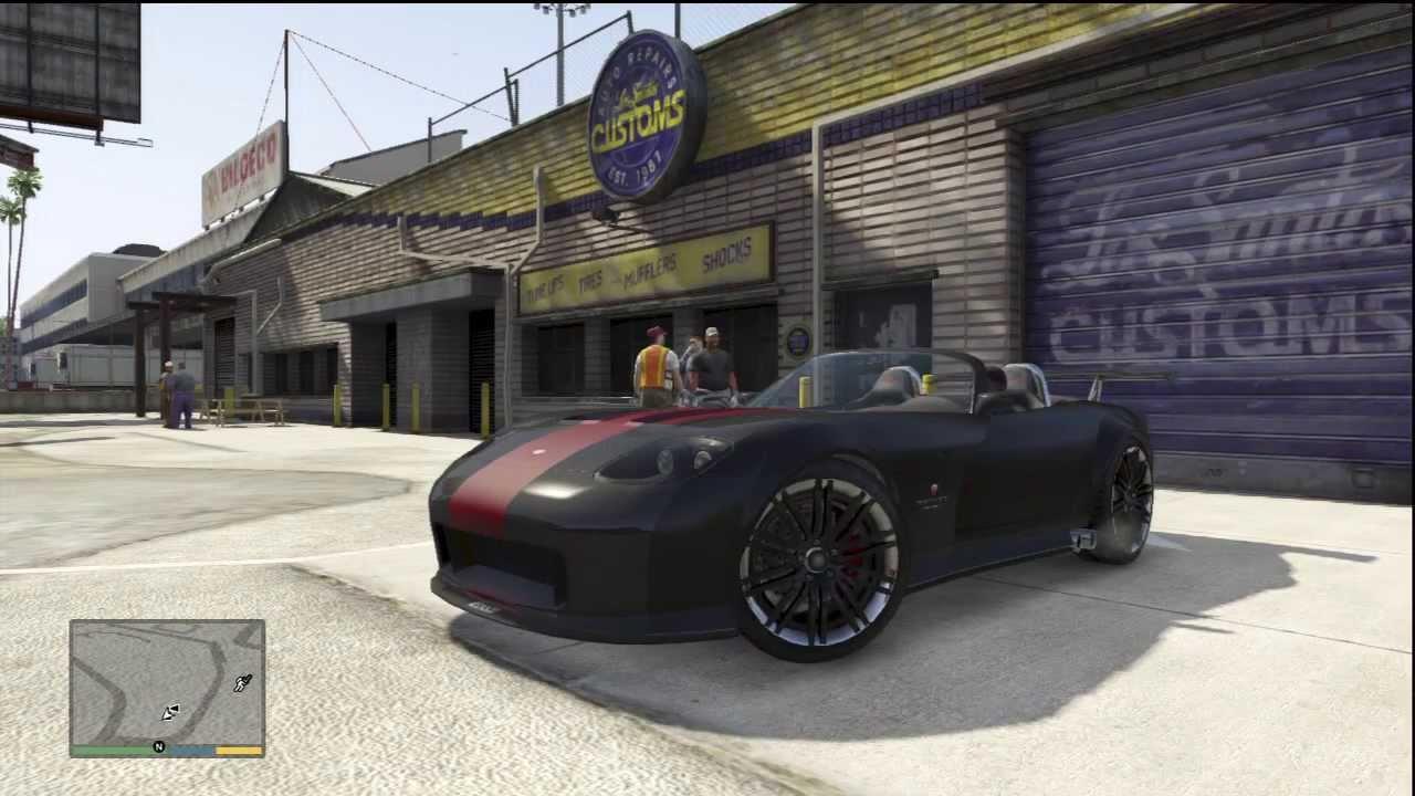 Gta 5 Fully Customized Dodge Viper Bravado Banshee Los