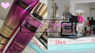 My Favorite Perfumes, Lotions & Body Mist