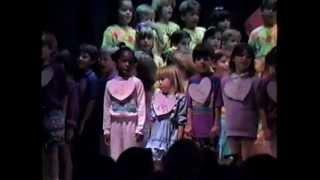 Kindergarden school play Shenandoah Elementary 1991 Friendship company
