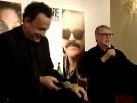 Tom Hanks in Paris for charlie Wilson's war/ Mike Nichols Mp3