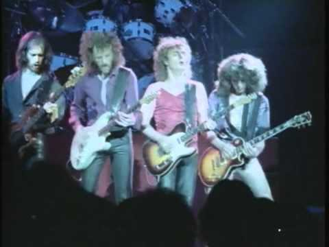 April Wine. Roller. At The Hammersmith Odeon, London UK 1981
