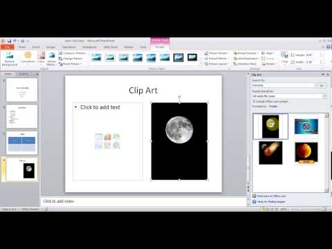 Hindi Microsoft PowerPoint 2010/2013 pt1 (Add slides, picture, chart, transition, Design etc)