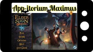 App-itorium Maximus 002 - Elder Sign: Omens by Fantasy Flight Games