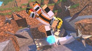minecraft survival lucky naruto vs sasuke morto am3nic