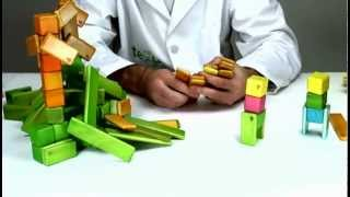 Magnetic Wooden Toys From Tegu Live - Building People Hiking