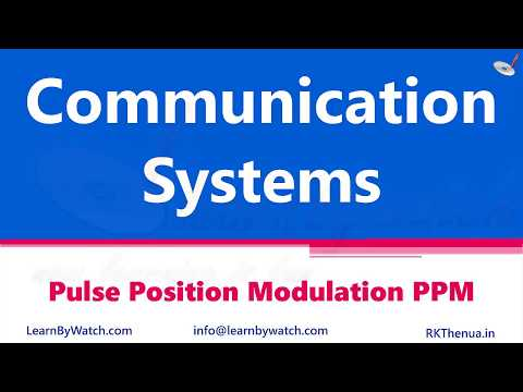 Pulse Position Modulation PPM | Hindi/ Urdu | Communication System By Raj Kumar Thenua