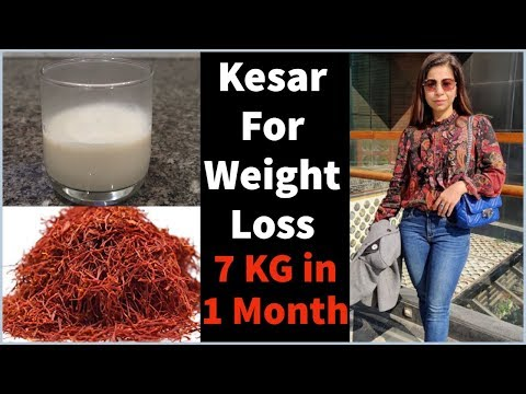 kesar-(saffron)-recipes-for-weight-loss-&-glowing-skin-|-lose-7-kgs-in-1-month-|-fat-to-fab