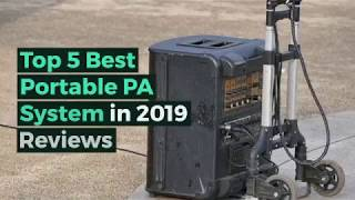 Top 5 Best Portable Pa System In 2019 Reviews