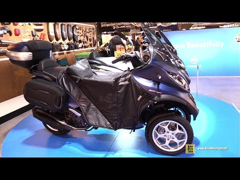 2018 Piaggio MP3 Business 500 hpe - Walkaround - 2017 EICMA