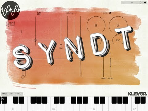 SYNDT Polyphonic Synthesizer by Klevgrand Demo for the iPad