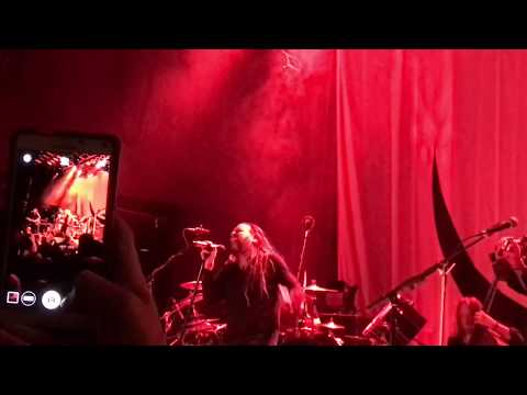 Jonnathan Davis wRay Luzier Black Labyrinth Tour 2018 House Of Blues San Diego