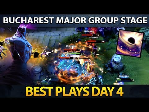 Dota 2 The Bucharest Major - Best Plays - Day 4 thumbnail
