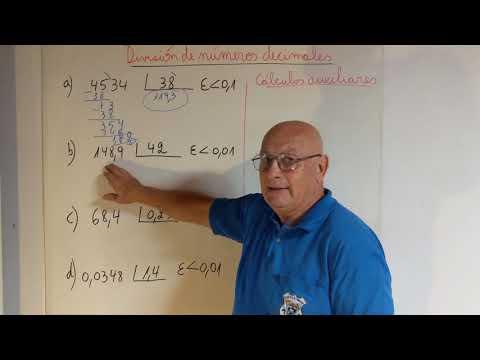 División de números decimales from YouTube · Duration:  3 minutes 2 seconds