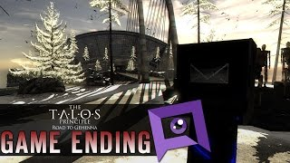 The Talos Principle: Road to Gehenna - Game Ending (Without Stars)