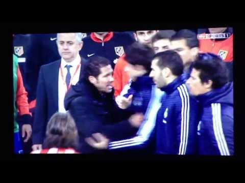 C.Ronaldo RED CARD + Pepe and Simeone W.H.W.Championship Fight R.Madrid vs A.Madrid (FINAL) 1-2 2013