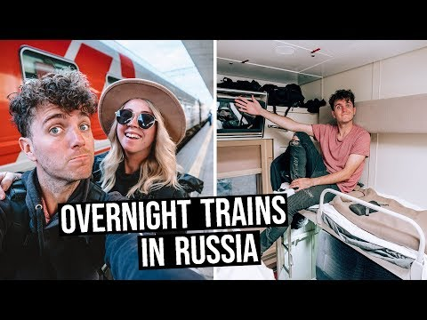 What is Train Travel like in Russia? | Overnight Train to Moscow