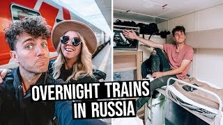 What is Train Travel like in Russia? | Overnight Train to Moscow in 2nd Class