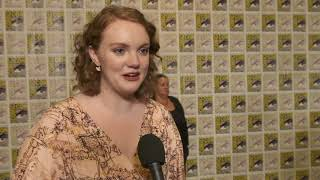 SDCC 2017 : Stranger Things S02 Itw Shannon Purser (official video)
