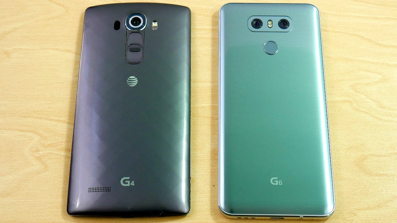LG G4 and LG G6 - Speed Test!