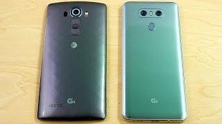 LG G4 vs LG G6 Speed Test!