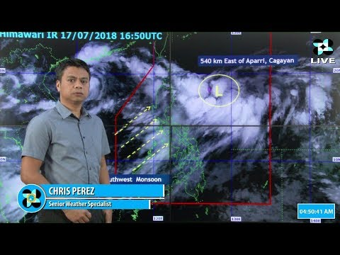 Public Weather Forecast Issued at 4:00 AM July 18, 2018