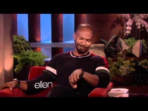 Ellen and Portia Visit Jamie Foxx