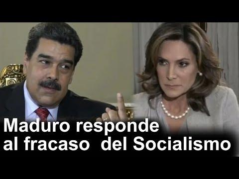 Maduro responde al fracaso del Socialismo en Venezuela