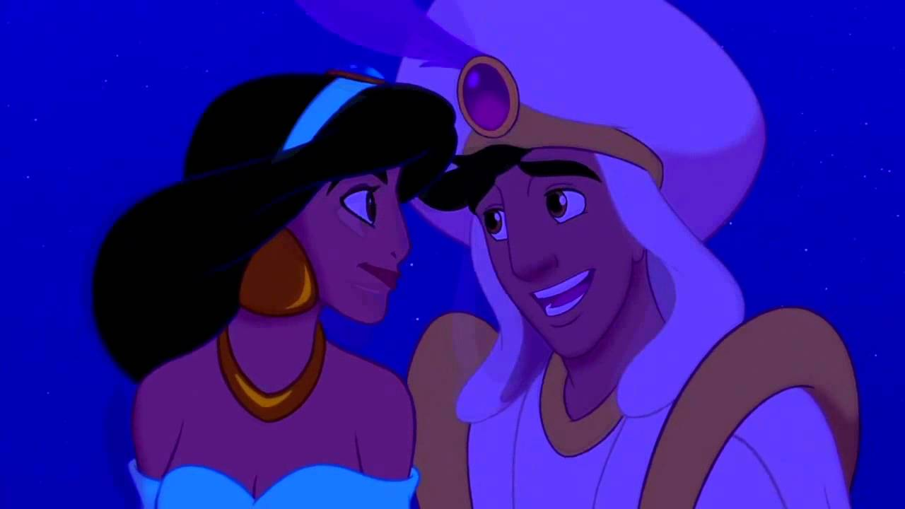 Aladdin and jasmine again car scene 3