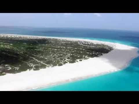 Flying to Barbuda By Helicopter