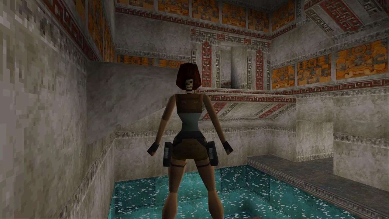 Tomb Raider 1 Pc Vs Playstation Comparison 2 Youtube