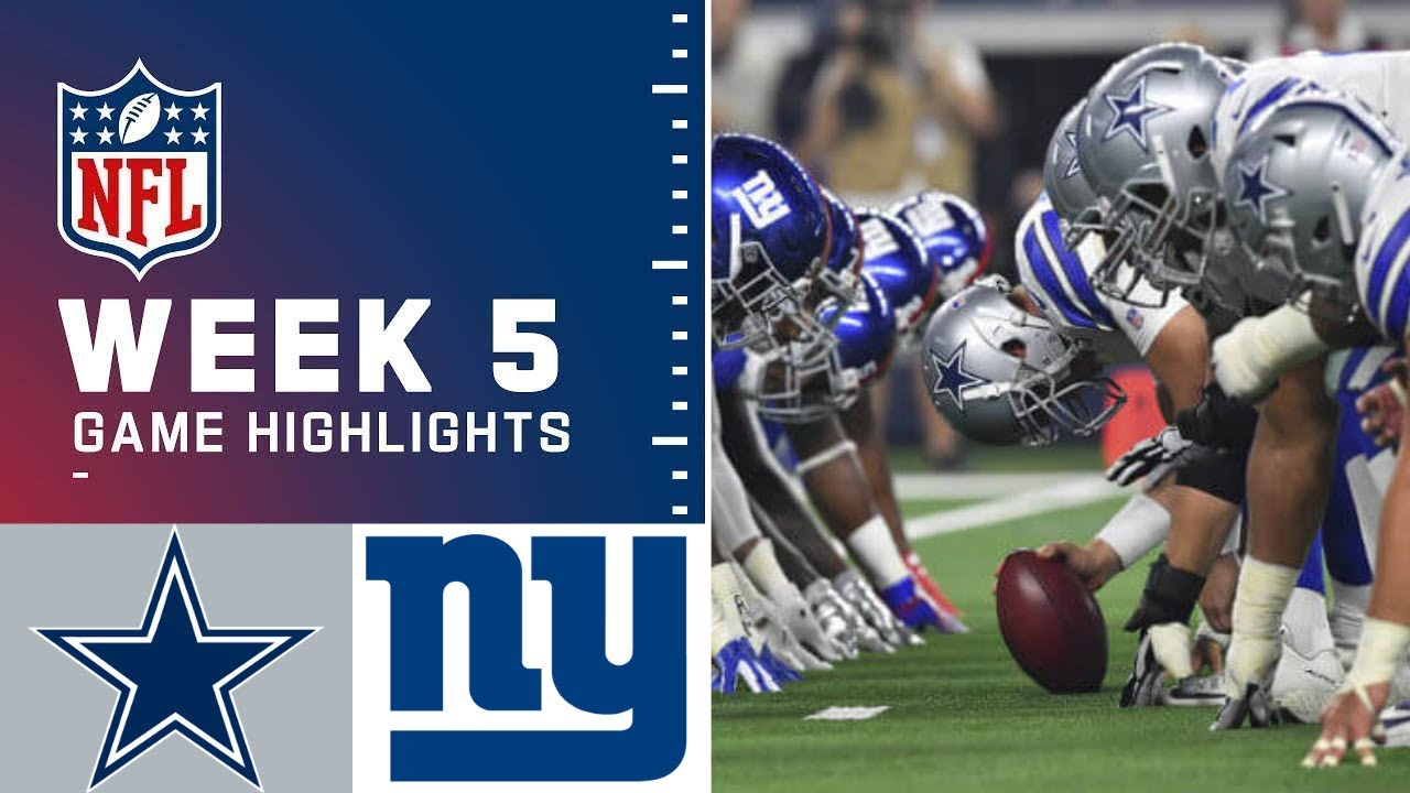 Watch highlights from Giants vs. Cowboys