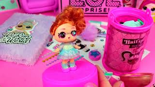 LOL Surprise Hairgoals  Pamiętnik nastolatki  DIY • Toys Land