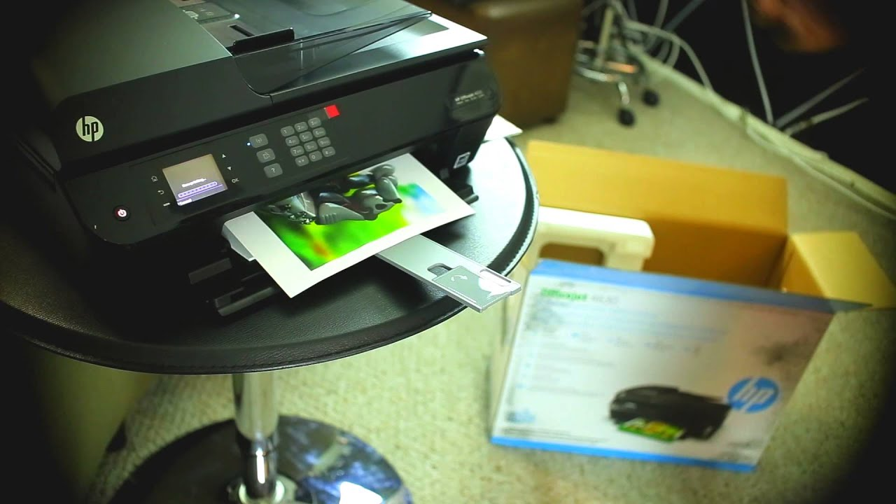 Quick HP Officejet 4630 Setup | Unboxing & Installations
