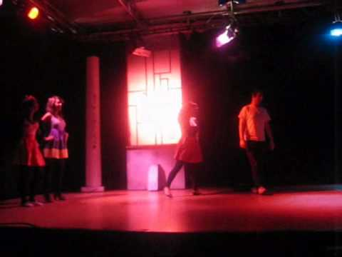 Adapcacion musical Grease 2º  Produccion.wmv