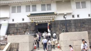 大阪城天守閣から大阪のまちを一望 2012