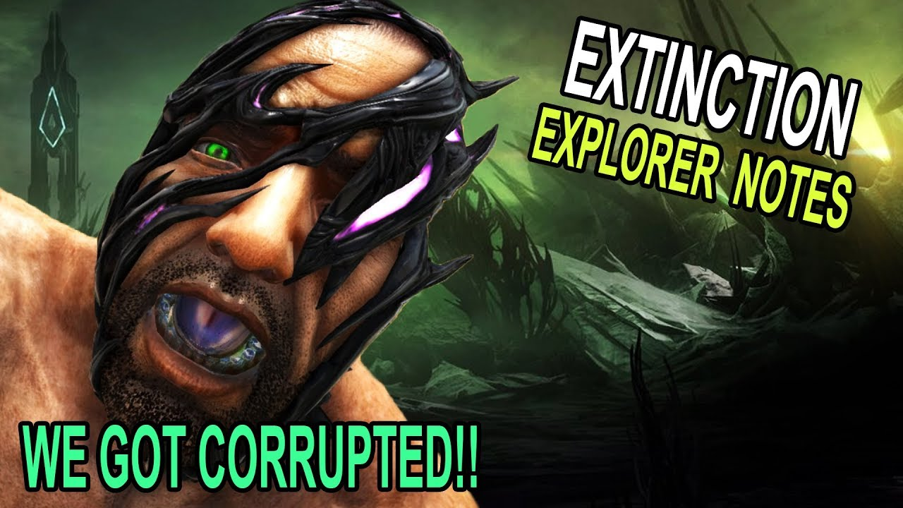 👽 WE GOT CORRUPTED & EXTINCTION NOTES ARE FOUND!! Ark Survival Evolved  Extinction DLC