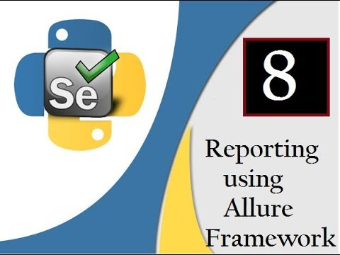 Selenium Python : Reporting using Allure Framework[CL/Wtsapp:  +91-8743913121-to Buy Full Course]